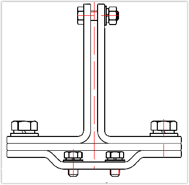 Шинодержатель ШПРШ-1С У3 шина 60х10 рисунок